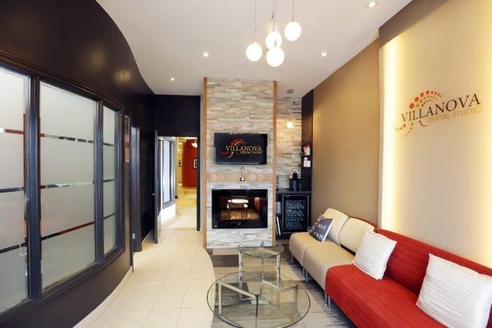 Villanova Dental Studio interior lobby in Kanata, Ottawa, and Stittsville