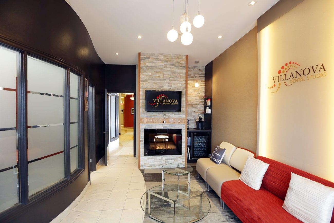Villanova Dental Studio interior lobby