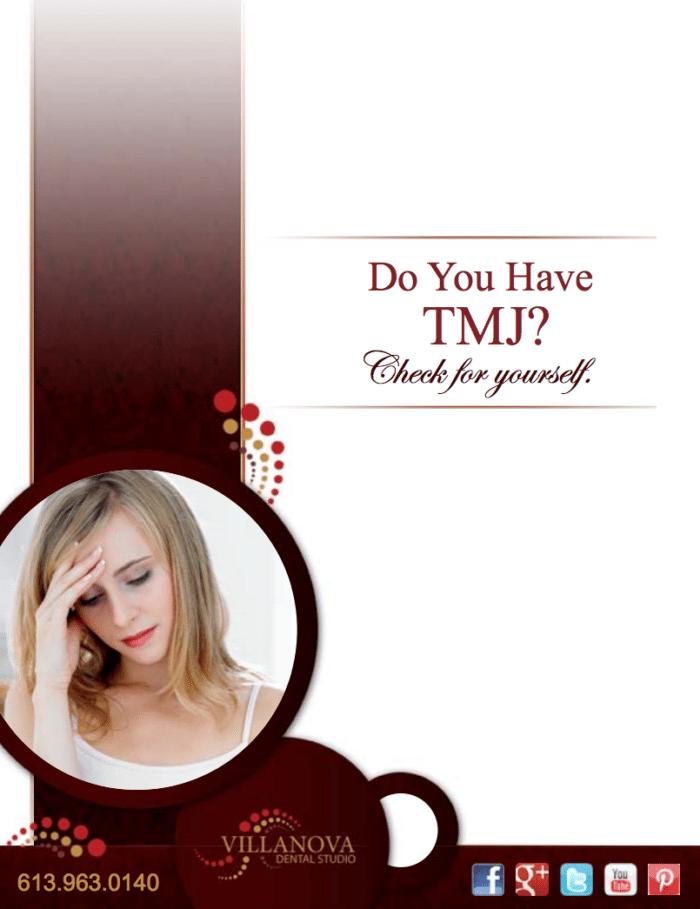 TMJ treatment information in Kanata, Ottawa